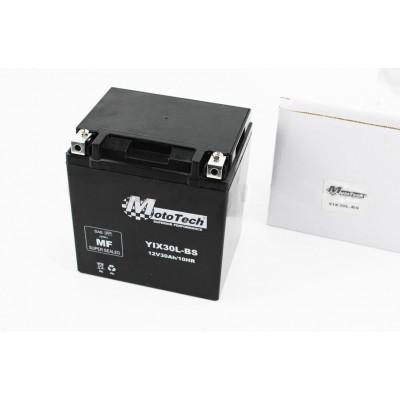 Аккумулятор 30Аh YIX30L-BS, (165/125/175мм)