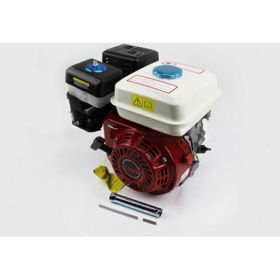 Двигатель мотоблочный в сборе под шпонку Ø20мм, фильтр-масло, 7,0л.с. (170F)