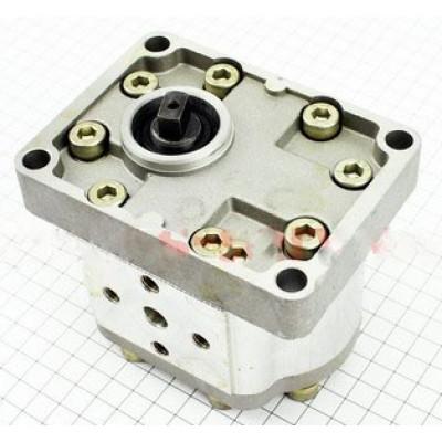 Насос гидравлический с переключателем в сборе (мототрактор)