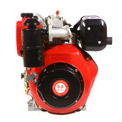 Двигатель Weima WM186FBS(R) (шпонка/1800 оборотов)