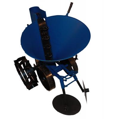 Картофелесажалка ленточная с транспортировочными колесами